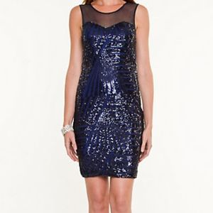 XS sequins dress new with tags